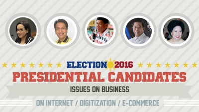 Presidential Assessment for May 2016 Elections | Issues on Business: Internet / Digitization / E-Commerce