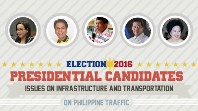 Presidential Assessment for May 2016 Elections | Issue on Infrastructure and Transportation: Philippine Traffic